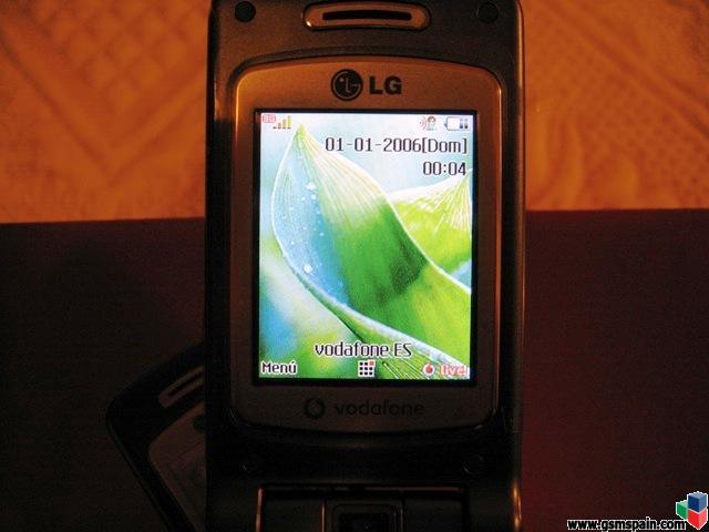 Vendo O Cambio Lg L600v Vodafone A Estrenar Con Factura Y Garantia De Hoy 10/3/2007