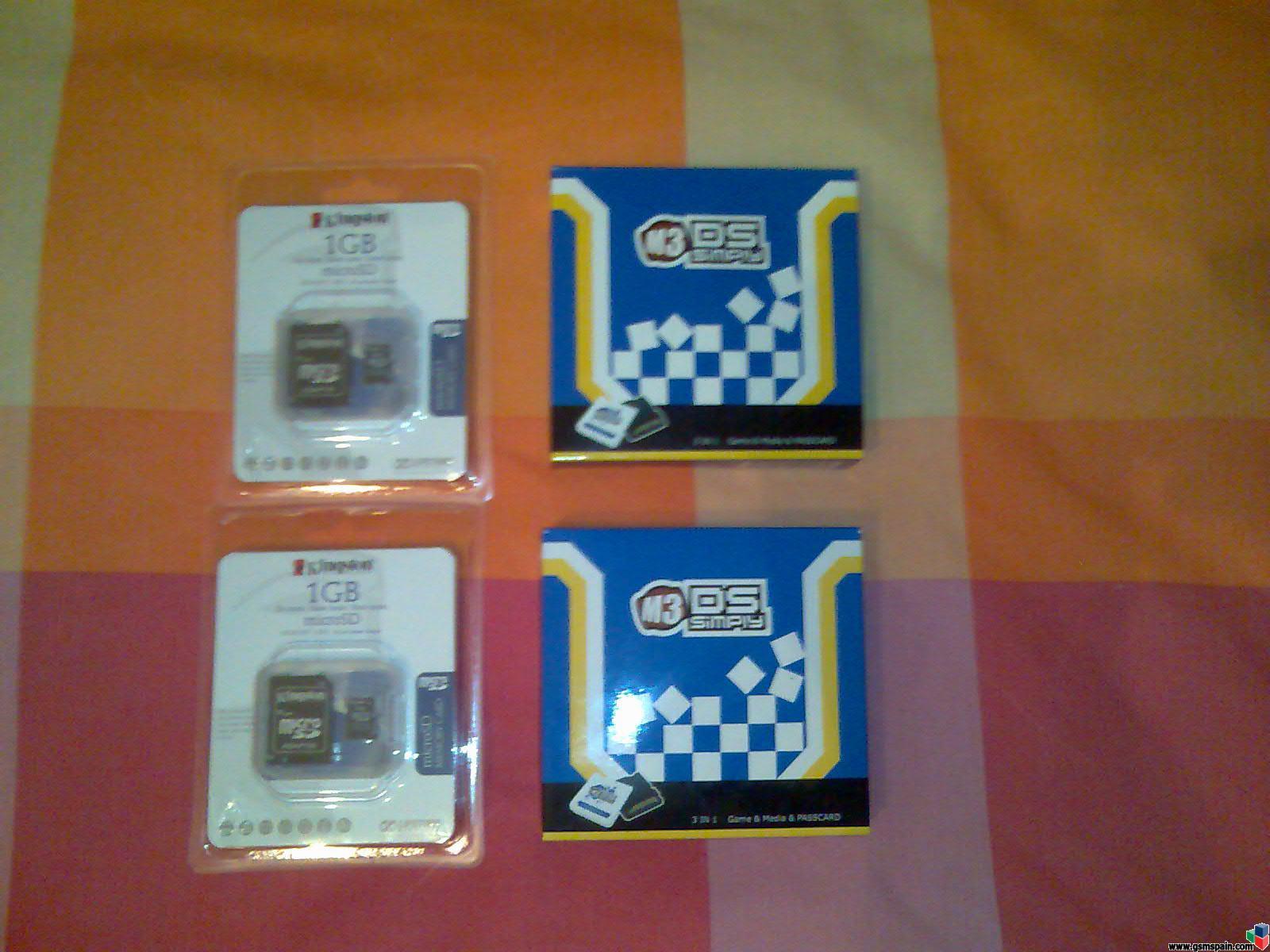 Vendo M3 Simply para Nintendo DS + Micro SD 1 GB
