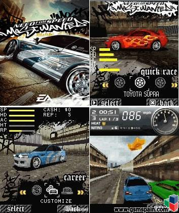 Need for speed most wanted 3d for Juego nfs most wanted