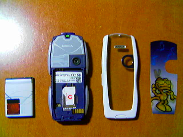 Review Nokia 3220 blanco libre