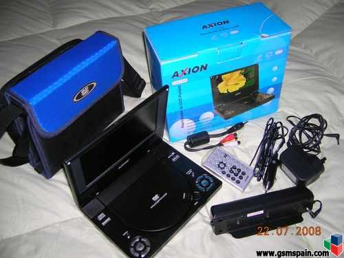Dvd  Portatil  Axion Completo