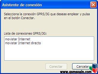 Escritorio Movistar: Conexion Internet Directo
