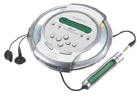 Discman MP3 SOny D-CJ01 TIRADO DE PRECIO