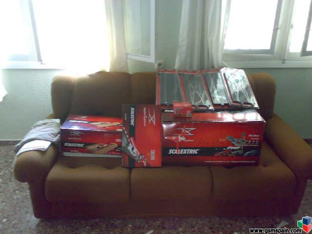 Cambio Scalextric Digital Ystem+extras Por Movil Gama Alta!!!!!!!!!!!!!!!!!!!!!!!!!!!