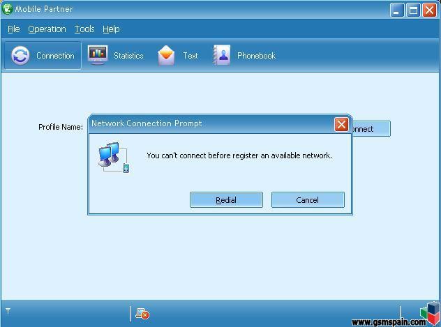Configurar  Mobile Partner para Yoigo Modem USB??