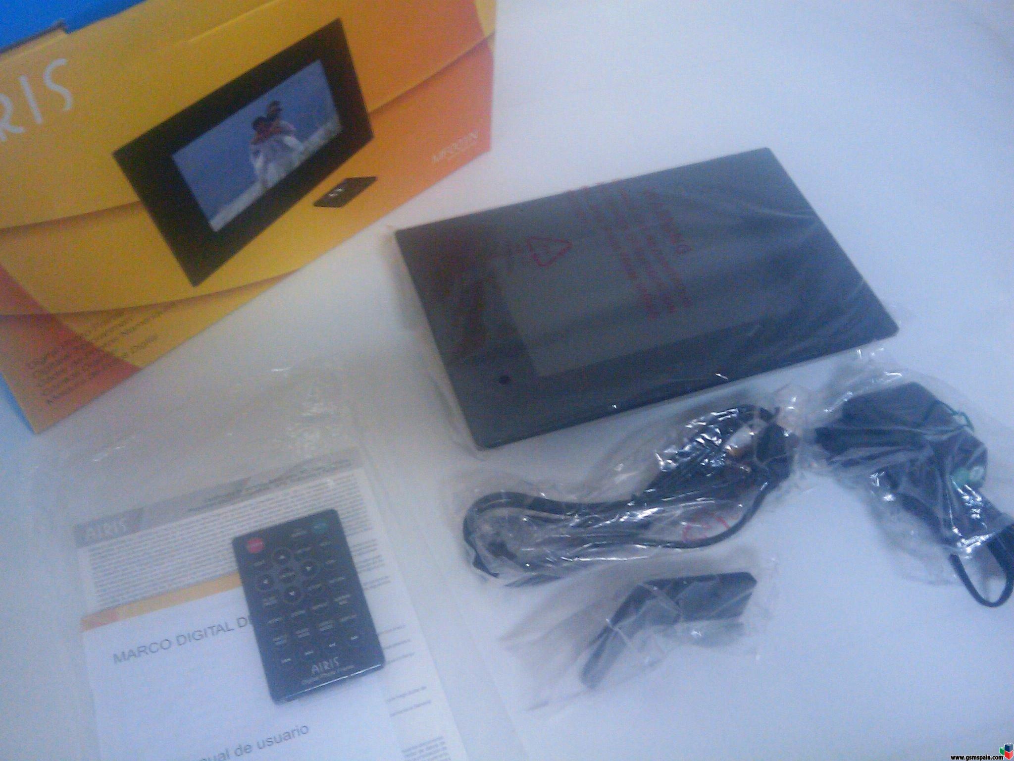 Vendo marco fotos digital AIRIS 7 pulgadas video+imagen+sonido NUEVO