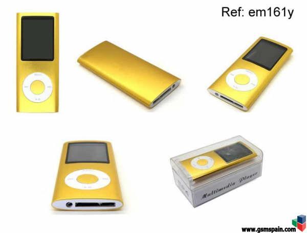 great fit buy online huge sale reproductor MP4 4gb TIPO ipod NANO IV. Barato y de calidad ...