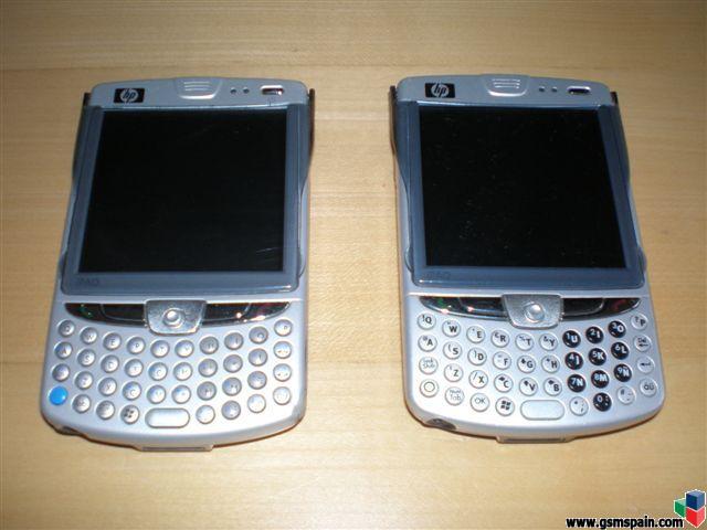 ¡2x1! Vendo HP IPaq Mobile Messenger 6915 y 6500: 100 €