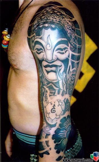 En Valencia, donde hacen tatuajes???