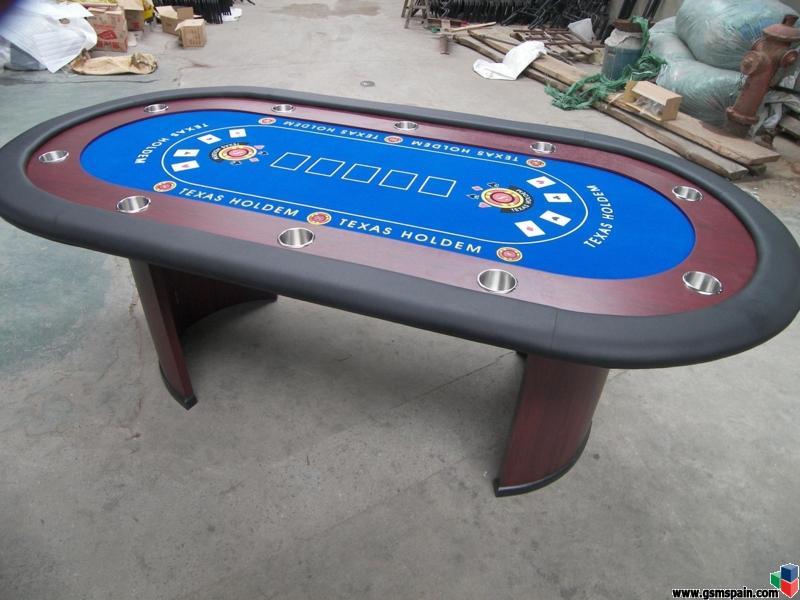 Se venden mesas de poker precios muy econ micos for Mesas de poker segunda mano