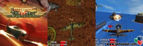 Juego de aviones Armageddon Squadron (S60v5)