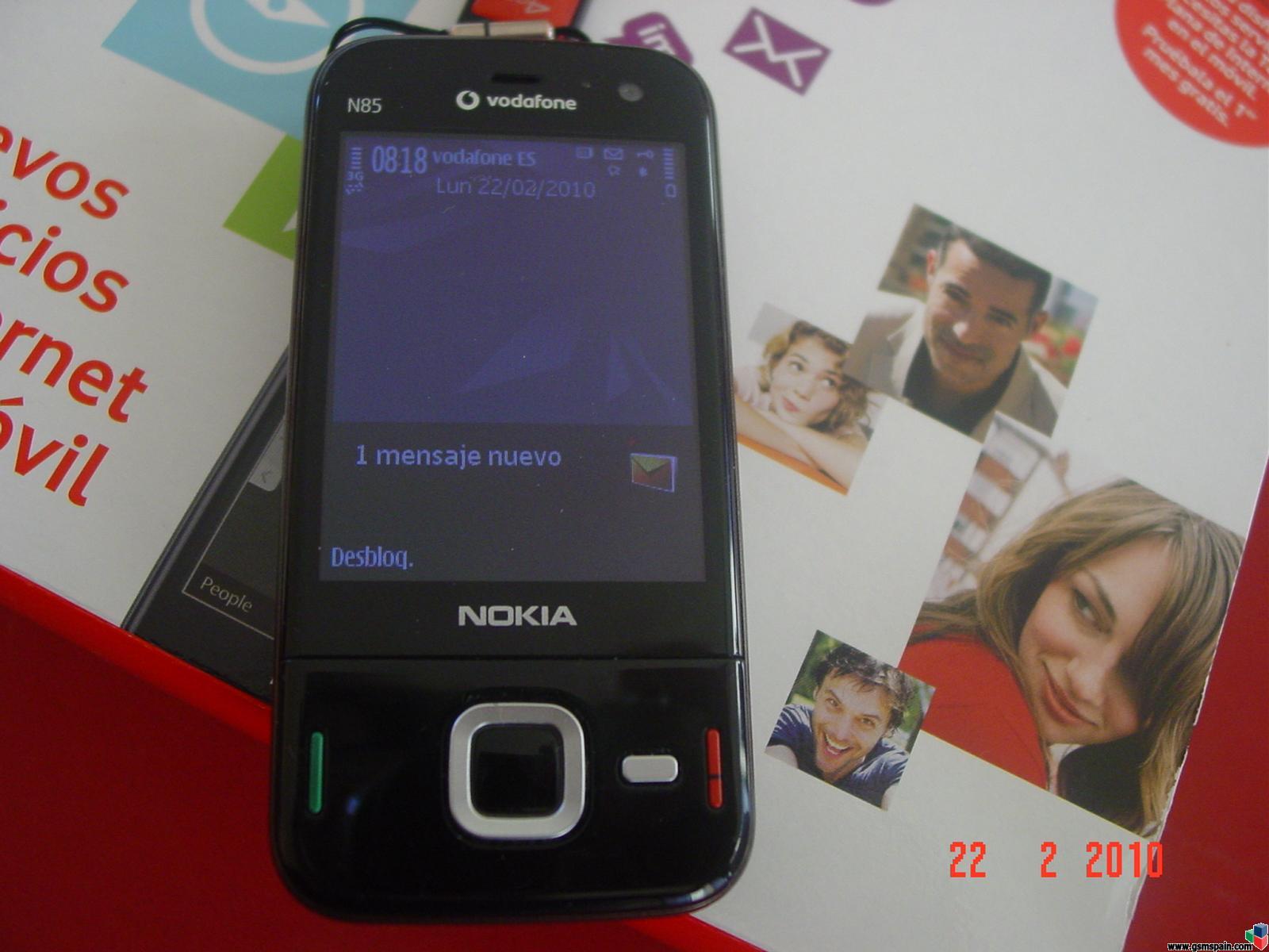 Vendo Nokia N85 Vodafone