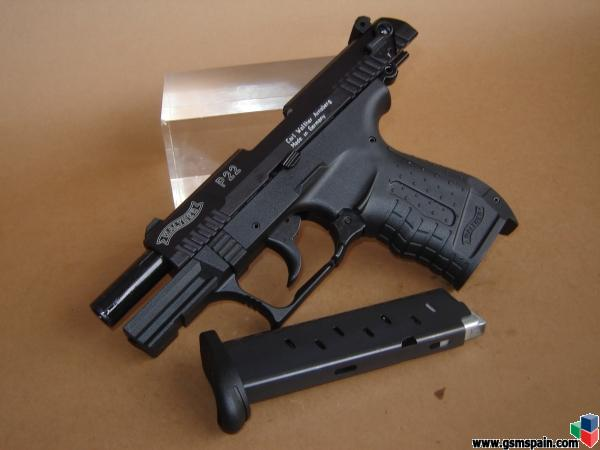 Vendo Pistola Walther P22 - Fogueo