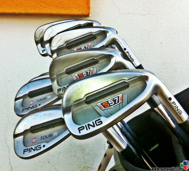 774ad4e8c836b  VENDO  Palos de golf  Juego de hierros Ping S57 con dos TW
