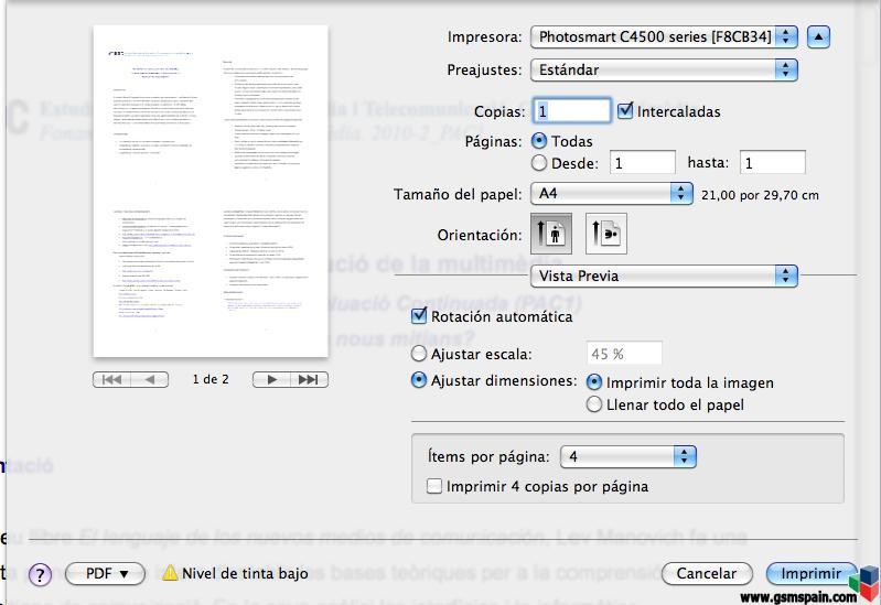 imprimir varias paginas de un pdf en una sola hoja - YouTube