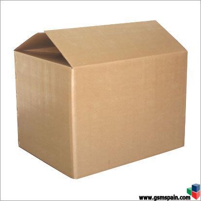Vendo cajas de carton doble ideal mudanzas for Cajas de carton madrid