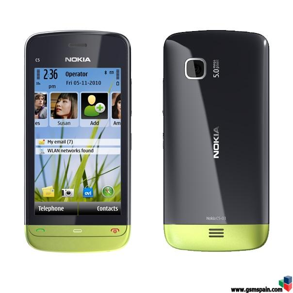 [VENDO] Nokia C5-03 Orange 100 euros + envio!!
