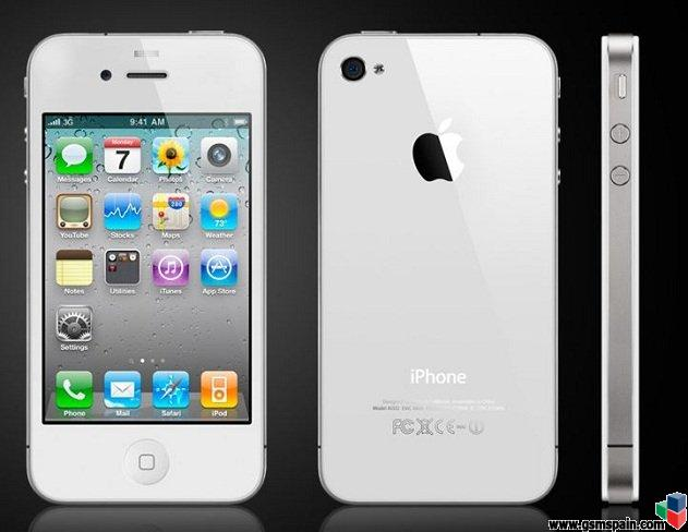 [vendo] Iphone 4 De 16gb Blanco