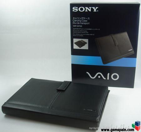 """[VENDO] Funda Cuero Original Sony Vaio VGP-CKTZ2 para T, TX, TZ y TT o de 10,6"""" a 11,1"""""""