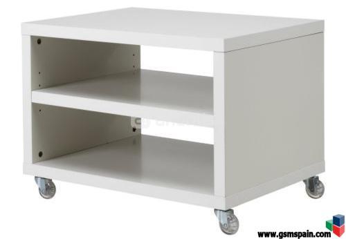 Vendo muebles de ikea como nuevos por viaje al for Mesa tv con ruedas ikea