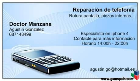 [AYUDA] Donde reparar iPhone 4.