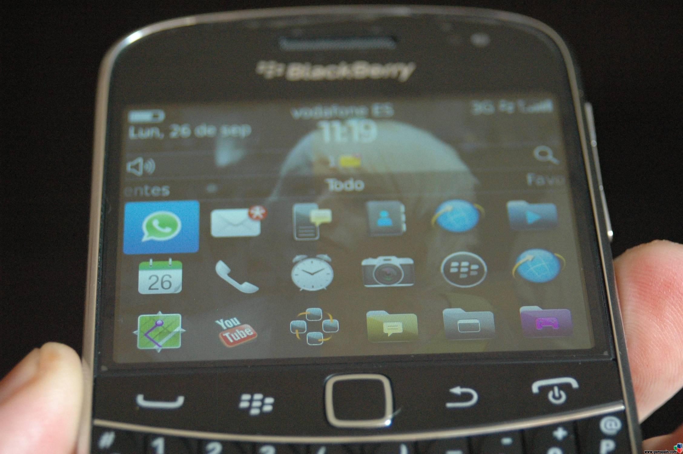 [REVIEW] Blackberry 9900 Bold Touch Galer�a de im�genes