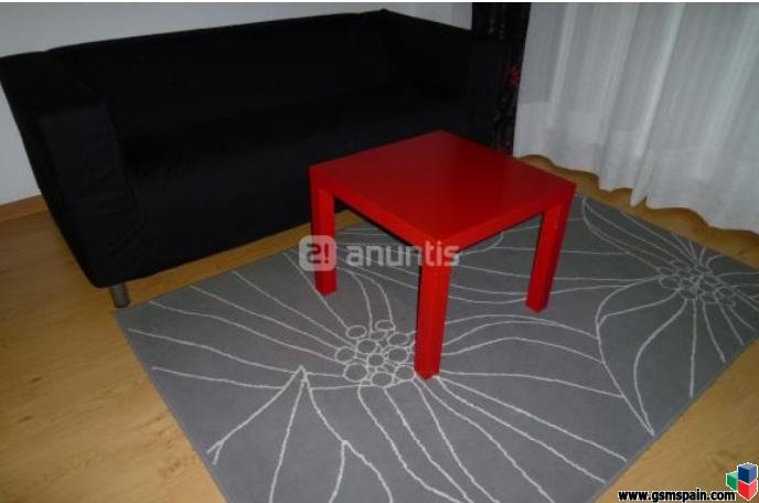 Vendo sof 2 plazas mesa y alfombra ikea - Mesa negra ikea ...