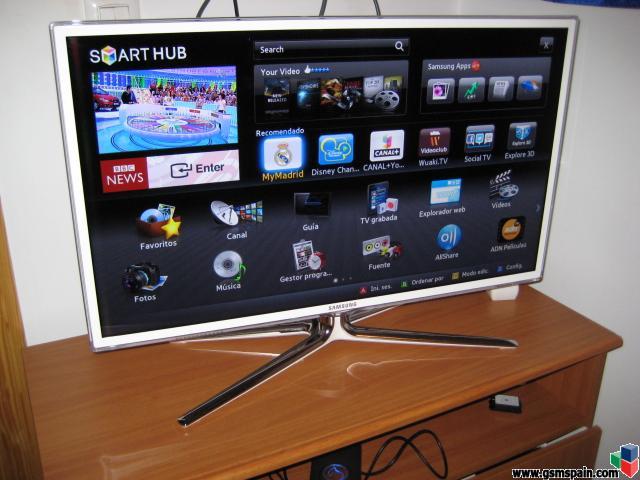 Vendo television led 3d samsung ue32d6510 32 smart tv - Distancias recomendadas para ver tv led ...