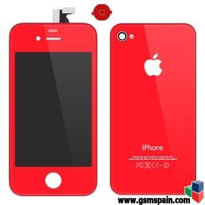 Kit completo para cambiar de color tu Iphone 4