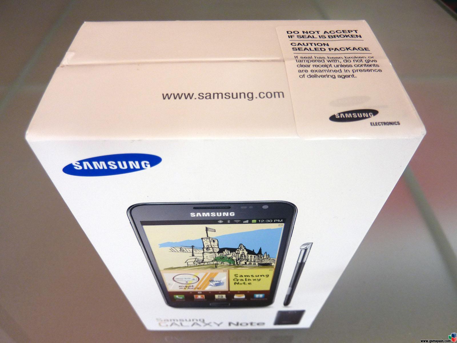 [VENDO] Samsung Galaxy NOTE: Nuevo+Precintado+Factura+Vodafone
