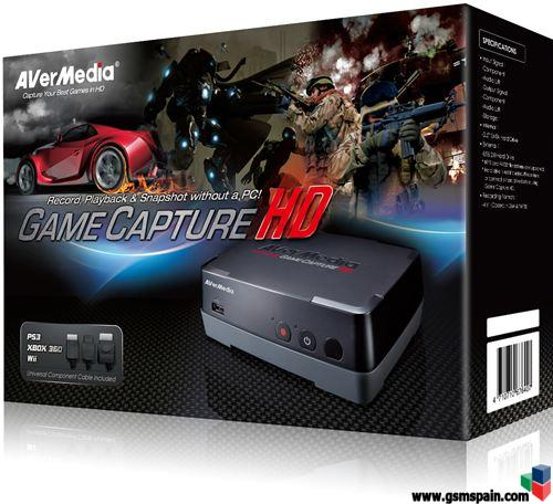 [vendo] Capturadora Hd Avermedia Game Capture !!