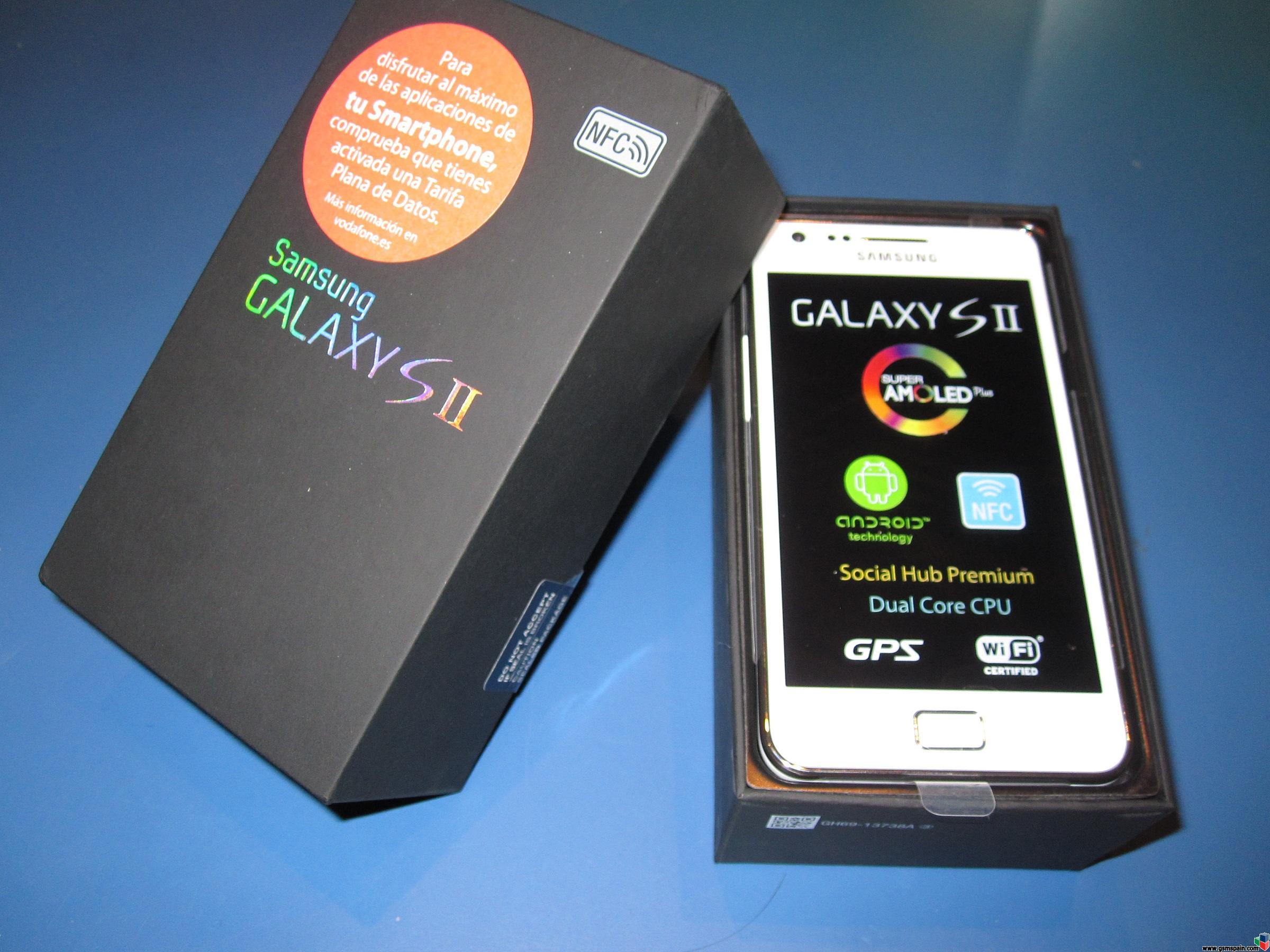 [VENDO] 299€ Samsung Galaxy S2 SII Blanco NFC Nuevo Con GarantÍa De 2 AÑos. Vodafone