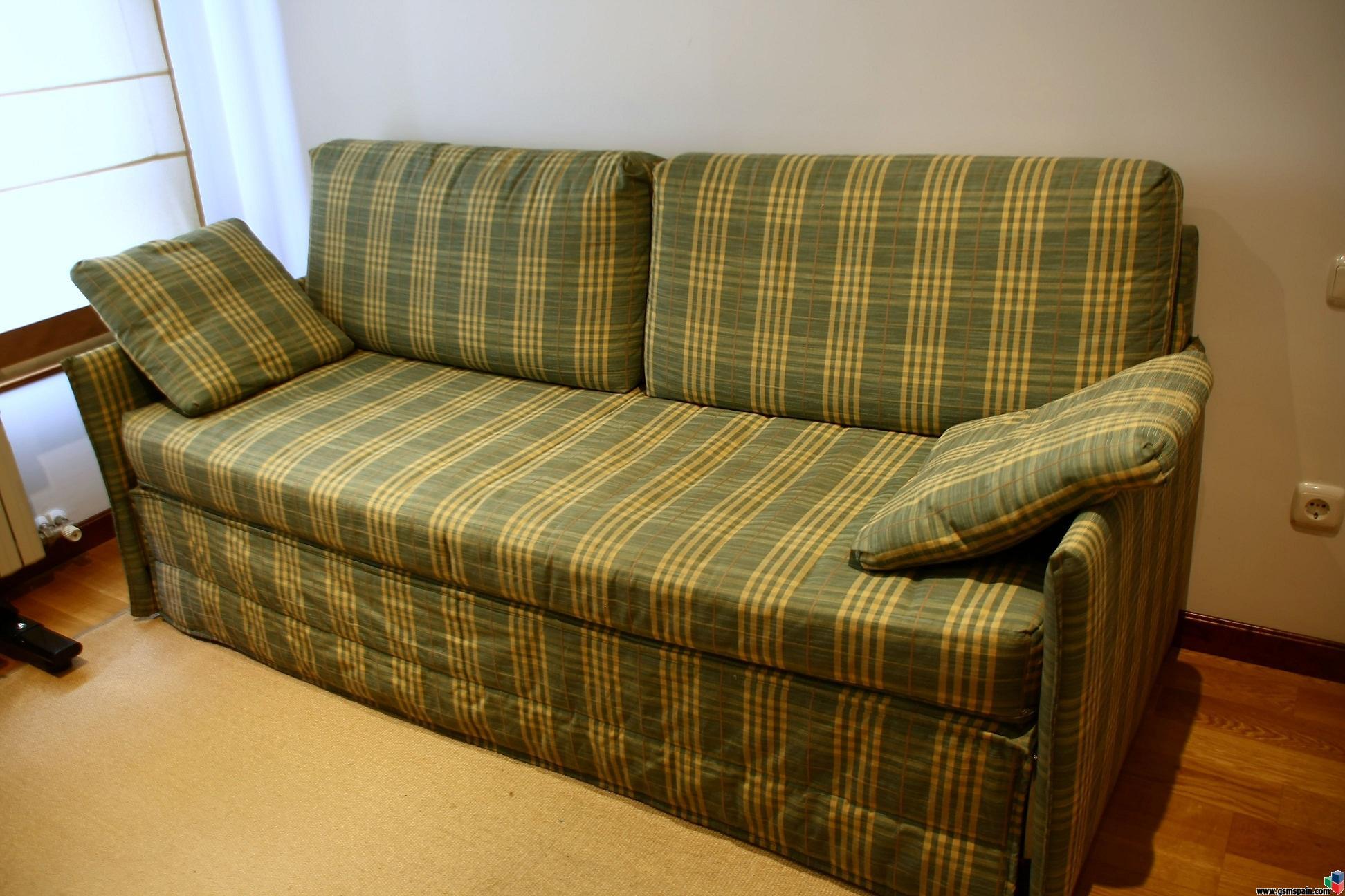 Vendo sofa 3 plazas convertible en 2 camas for Vendo sofa cama 2 plazas