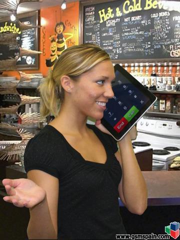 ¿Como véis usar un iPad Mini como móvil?