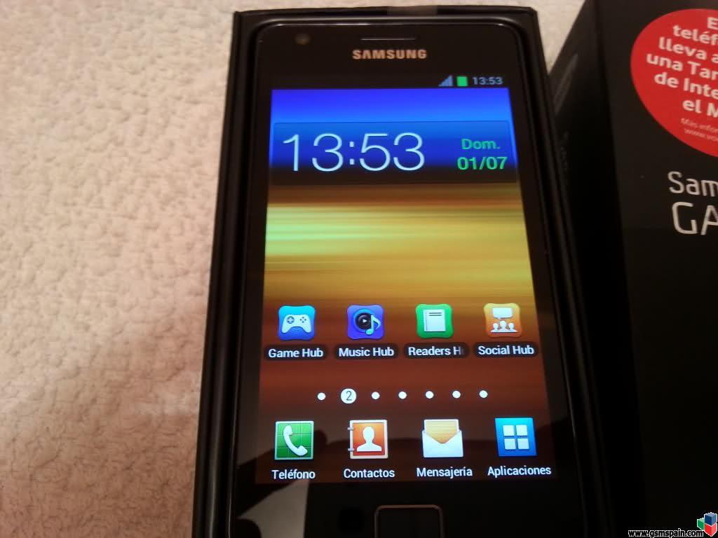 [CAMBIO] Samsung Galaxy SII por tablet
