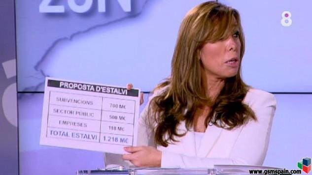 """Alicia Sánchez Camacho debería volver al """"cole""""... no sabe sumar!!!"""
