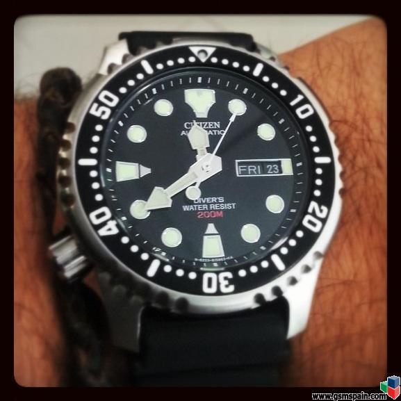 [VENDO] Reloj Citizen Promaster NY0040-09E Automático Diver 200m