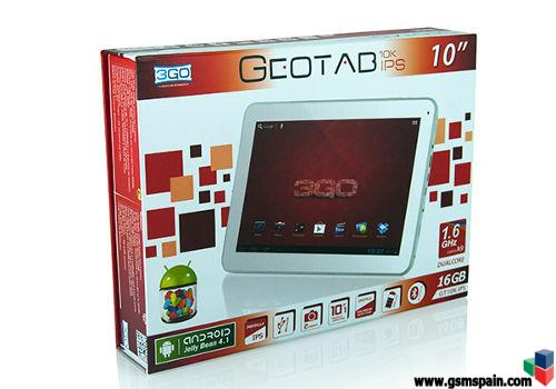 [vendo] Tablet 3go Geotab 10k Ips 10""