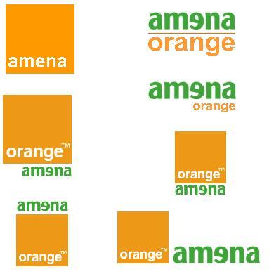 Posibles logotipos Amena-Orange