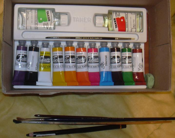 Pinturas para pintar al OLEO  !   !    !   !