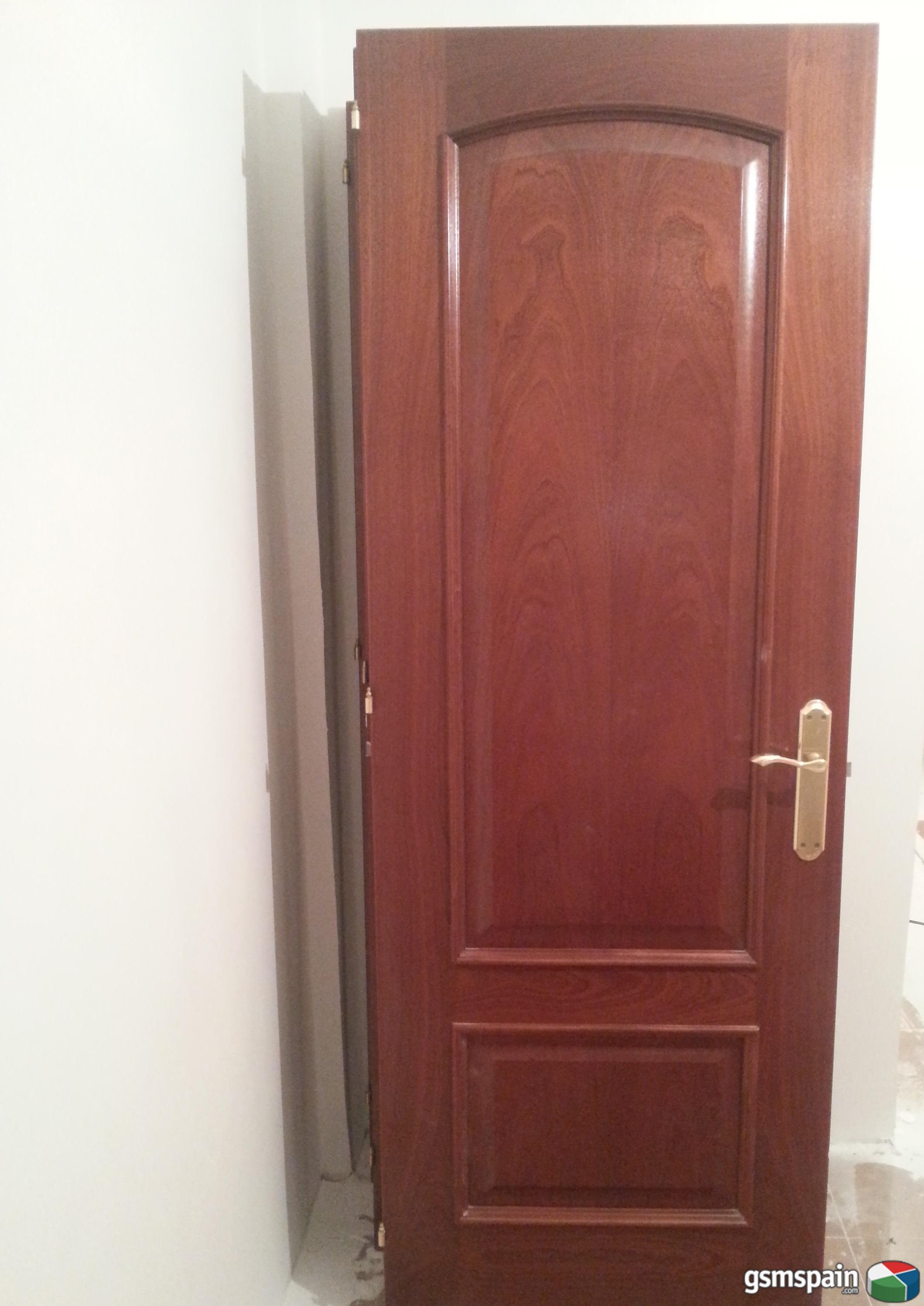 vendo puertas macizas de sapely casi nuevas al mejor
