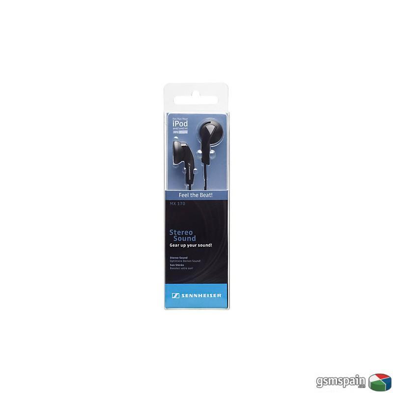 Auriculares Sennheiser MX170 BLACK 8,90€ Iberacces