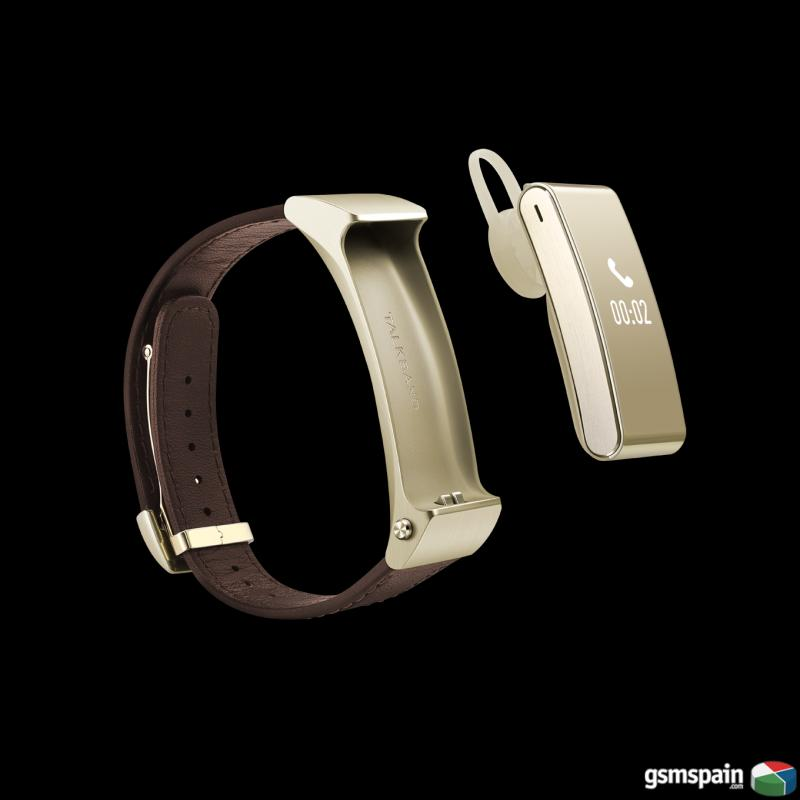 SmartWatch Huawei Talkband B2 BLACK & GOLD IBERACCES