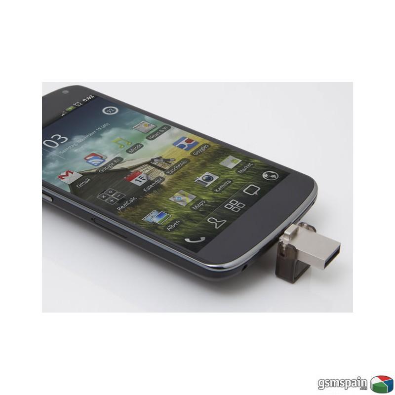 Llevate este Pen Kingston doble USB Micro+ Normal de 32GB ahora con envio gratis