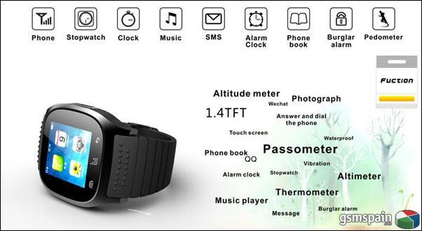 RWATCH M26 SMARTWATCH Entrega en 24 horas,2 años de garantia solo 44,90€
