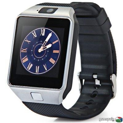 """Smartwatch DZ09 1.56"""" MTK6260A Entrega en 24 horas y 2 años de garantia"""