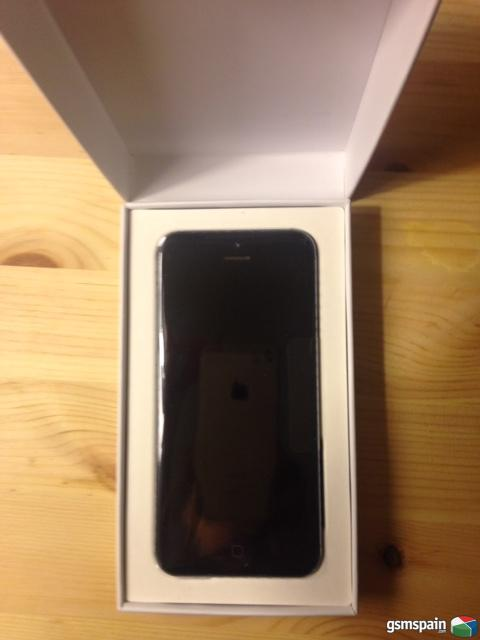 Se vende iPhone 5 negro 32GB libre de fábrica