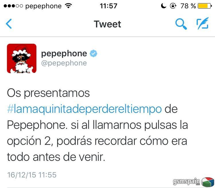 La maquina del tiempo de Pepephone