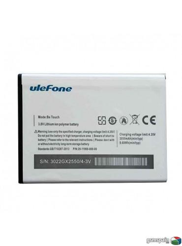 Bateria Original Ulefone Be Touch Series 2/3 3050mAh solo 15,90€