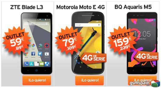 Estrenamos tienda de móviles Outlet ¡sólo para clientes!